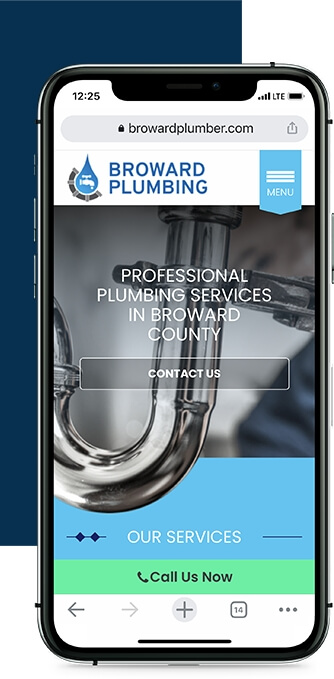 Broward Plumbing on Mobile