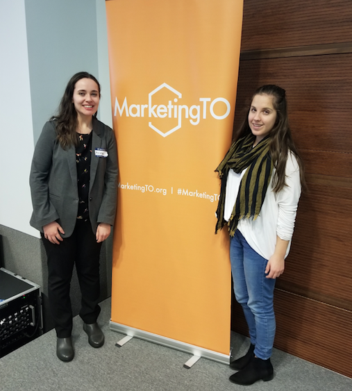 Xi Digital at Marketing TO event