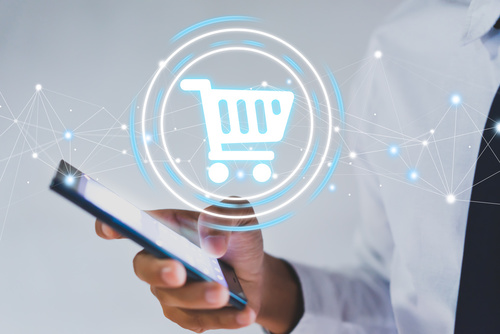 man, tablet, online shopping, ecommerce seo, xi digital